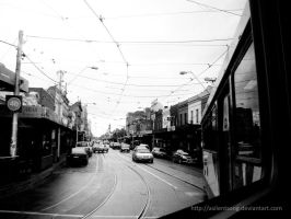 Melbourne Tram by asilentsong