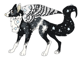Constellation Collie -Design Sale- by Errored-Adopts