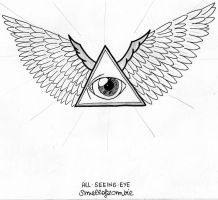 All Seeing Eye by smellofzombie