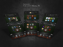 Samsung Galaxy Note 3 Screens by Agamemmnon