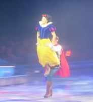 Prince and Snow White in Disney on Ice Frozen by Codetski101