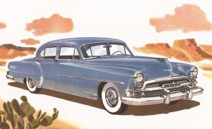 age of chrome and fins: 1954 Chrysler by Peterhoff3