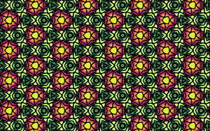 Graphic Flower Of Life pattern. by mariquack