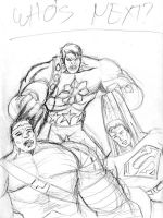 Hulk? Supes? Who's Next? by gioparedes