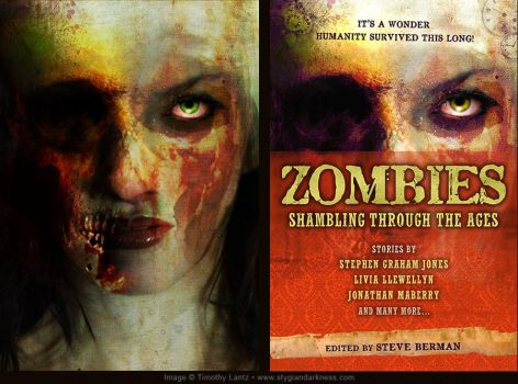 Zombie Girl/Cover Art by archeon