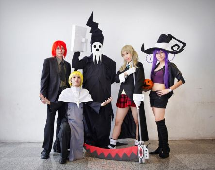 Soul Eater Team - CF Day 1 by SweetSix