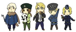 APH- Allied 5 of Q police by yamielkk