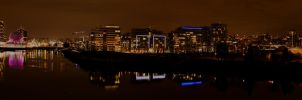 Cambie Bridge Panorama 01 by insomniac199