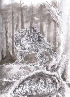 Nazgul (with background) by VforVinegrette
