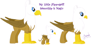 My Little Hippogriff by Ameyal