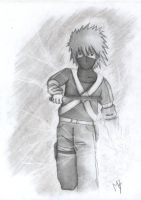 Kakashi young chidori by TigressDrawing