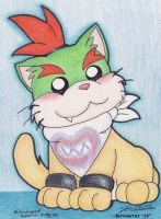 Bowser jr Kitty by Boltonartist