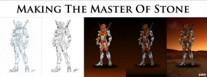 Making The Master Of Stone by Gahrak