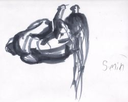 5 min marker figure drawing by 24movements