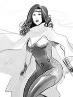 BnW Wiccan by Colours07