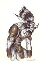 world of warcraft- Troll by Kiccyke