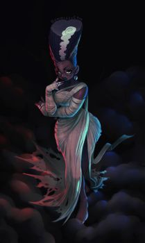 Lady Monster by CamiFortuna