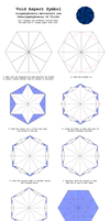 Origami Void Aspect Symbol Diagrams by OrigamiPhoenix
