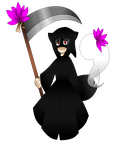 Lily the Reaper :ZUN STYLE: by MysticDragon0012
