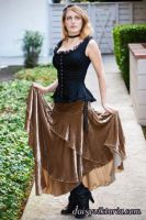 Velvet Skirt and Camisole by DaisyViktoria