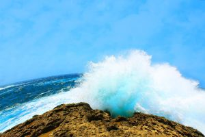 Waves in Gozo (Malta) by LelloGneh