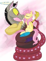 Fluttercord Kissu by HiccupsDoesArt
