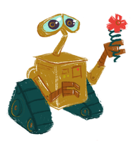 Wall-e by Bumbledom