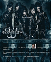 BVB Journal Skin by PATDDivagurl by UnderAbigailsRose