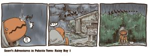 SenriRainy Day 1 by SilkenCat