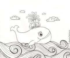 It takes a Whale for things to grow by Natasha-Pavlitsevits