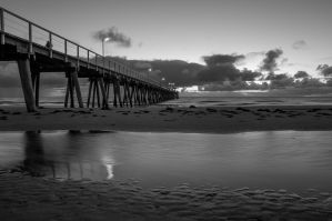 Another Largs BW by MarkKenworthy