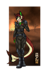 Skylos Armor Version Commish by Cristaleyes