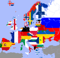 Linguistic States of Europe by CaptainVoda