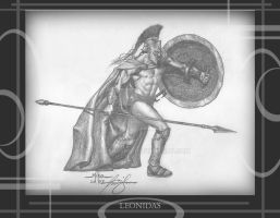 Leonidas by Mirthrynn