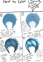 The Lazy Tutorial: Hair Coloring by BishieSan