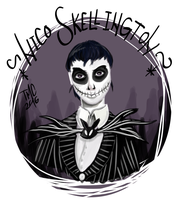 Nico Skellington by The-Mad-Cat