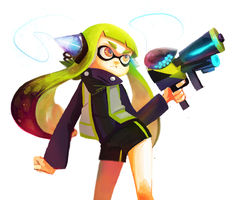 Splatoon! by maplekeurig