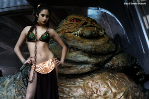 Leia And Jabba 38 by Darthsandr