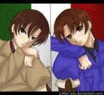 Italy brothers by LittleCiela