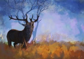Stag by JenniferEasley