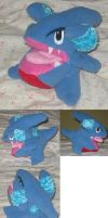 Gible plush by teenagerobotfan777