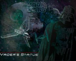 Vaders statue Wallpaper by NanoCigT