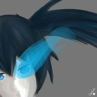 Black Rock Shooter by CupCake-Hime