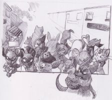 Task One- Part Two- Walk through Andallust by Sepia-Zorua