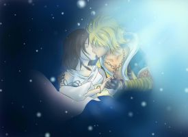 Tidus and Yuna - FFX by MentalMandur