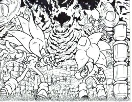 sonic tails and the time eater LA by trunks24