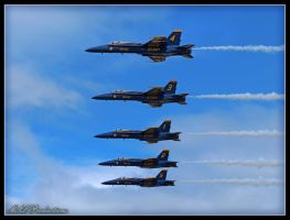 Blue Angels 2012 by Dracoart