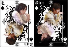Kira Vs L card by TeardropTC