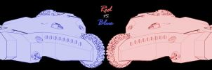 Red vs. Blue by Doomsday-Device
