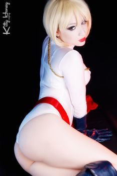 Power Girl cosplay 03 by Kitty-Honey